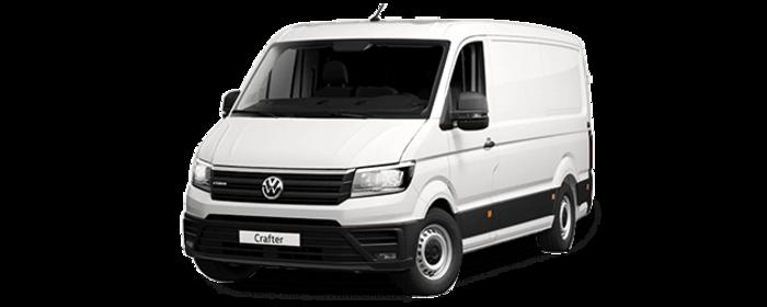 VolkswagenCrafter Furgon Batalla Media TA 2.0 TDI 75 kW (102 CV) 3.000 Vehículo nuevo en Badajoz - 1